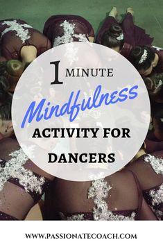 The Best One-Minute Mindfulness Activity for Dancers – Dance Center Teach Dance, Jazz Dance, Learn To Dance, Ballroom Dancing, Dance Class, Praise Dance, Ballet Class, Dance Articles, Dance Team Shirts