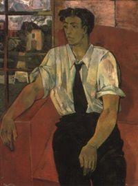 John Minton: 'Portrait of Eric Verrico', 1947–1948
