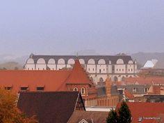 Cathedral of Halle in Saxony-Anhalt, Germany Halle, Saxony Anhalt, Paris Skyline, Cathedral, Germany, Tower, Travel, Brandenburg, Rook