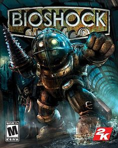 Bioshock by Irrational Games  So this one you can buy anywhere and for many platforms.  The game play (coupled with the creepy 1950's music...those songs still terrify me) TERRIFIED ME!!!  To the point where I couldn't play much, but I love the story.  An underwater utopia goes terribly wrong.  Beware splicers in this survival horror first person shooter.  If you can get past this, the story is totally worth it.