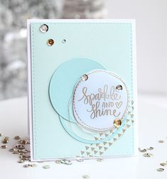I'm absolutely LOVING the December Card Kit from Simon Says Stamp.  The cool colours are so perfect for this time of year and the embossing powders included in the kit are amazing. The stamp set is...