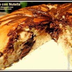 El mejor bizcocho casero con Nutella