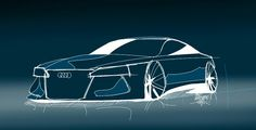 SketchBook galaxy. Audi. Design. Car design. Car sketch. ◆Massimo Serafini◆ AUDI CONCEPT. #Bontemp