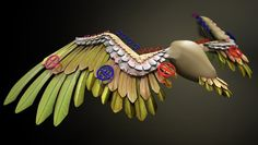 Digital-Tutors #Rigging Wings in 3ds Max http://www.digitaltutors.com/11/training.php?pid=643 #3dsMax