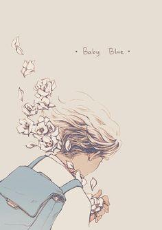 Ilustrações delicadas de garotas entre flores e cactos pela artista coreana Choi Mi Kyung. Vale a pena conferir...