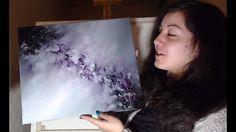 Peinture Abstraite Monochrome - Speed Painting Acrylique