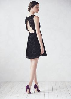Lace with a cutout back? This dress is a must-have.
