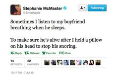 Funny Tweets of the Week: On Bedtime With Boyfriends