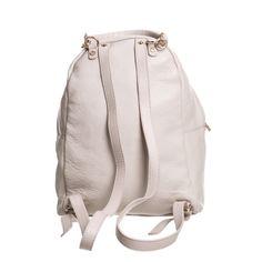 79e17c4769e5 КОКЦИНЕЛЬ Светло-бежевый кожаный рюкзак с кисточками LEONIE - Bohbo Кисточки