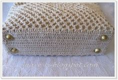 how to make crochet bag step by step - Google Search
