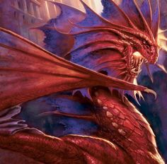 Super Cool red dragon!!