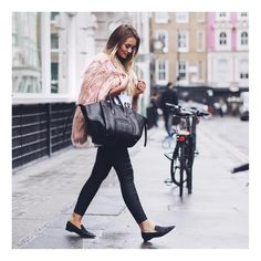 """""""Last #LFW outfit up on www.thatpommiegirl.com with all the outfit details  street style snap from my babe @michaelatphotos  www.liketk.it/1Mb0Y…"""""""