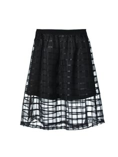 w essential organza overlay a-line skirt. (it's under $50!)