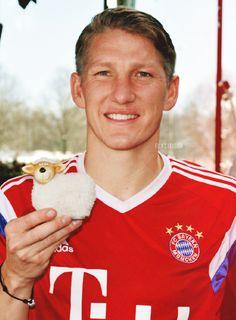 Bastian Schweinsteiger...
