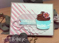 Cupcake Card - Ziehkarte - Avery Elle