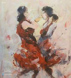 #نمايشگاه  مجيد فعال اكريليك بر مقوا ٥٠*٣٥ سانتيمتر استفاده منصفانه  @majidfaal.painter #Nujaa #Exhibition #Art #Iran #Painting #MajidFaal #FairUse  #مجید_فعال #هنر #ایران #نقاشی