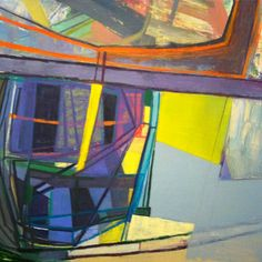 Amy Sillman, P 2(Behemoth)
