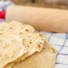 We used to buy tortillas from the store but no more! These made from scratch tortillas are easy to make and delicious! Only 5 ingredients!