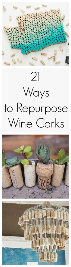 Pop the bottle. Save the cork. These wine cork crafts are too good to be true.