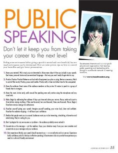 Public Speaking Tips. For #goalsetting and #KPI expert help follow @jamsovaluesmart and visit our website http://www.jamsovaluesmarter.com