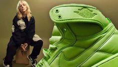 billie eilish air jordan Billie Eilish, Jordan 1, Timberland Boots, Air Jordans, Nike, Shoes, Fashion, Air Jordan Sneakers, Women's Fashion Tips