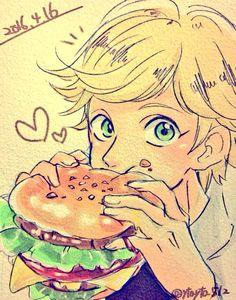 Amor a las hamburguesas