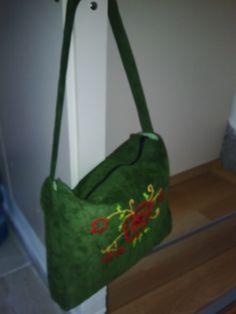 Handmade Embroidered Bag /  Nakışlı Kumaş Çanta