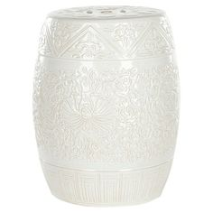 I pinned this Everest Garden Stool in White from the Safavieh event at Joss and Main!