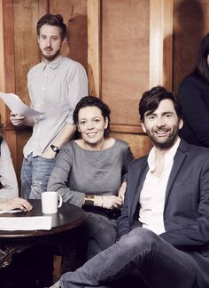 Arthur Darvill, Olivia Coleman, David Tennant/Broadchurch