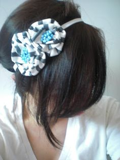 THE SISTERS BLOG: How to: Fabric flower headband