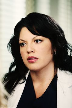 Dr Callie Torres from Grey's Anatomy