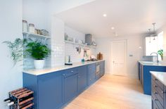 Stroud Green, N5, London, Side Return Extension, Kitchen Extension, Ground Floor Flat Extension, Bi-Fold Doors, Kitchen, Rear Extension, Roof-lights, Pitched Roof, Side Return Ideas, Kitchen Extension Ideas, Dining Area Ideas, Living Area Ideas, Open Plan Living, Wine Rack, Contemporary Kitchen