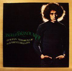 ANGELO BRANDUARDI - Same  1st LP - Vinyl LP - Top RARE Italo Disco Pop