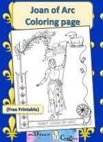 st joan of arc preschool st joan of arc coloring page vacation bible school 723