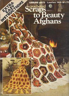↞ ↟ ↠ Recortes Crochê à Beleza Afegãos Malha itens decorativos Criações -  /  ↞ ↟ ↠  Crochet Scraps To Beauty Afghans  Knit Knacks Creations -