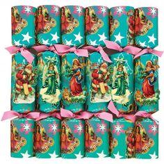 Kitsch Christmas crackers - box of 6