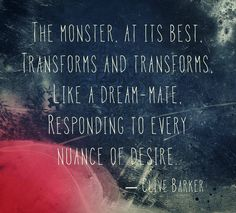 Clive Barker-the monster