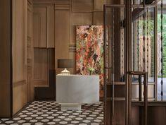 Getting to Know Rosewood Bangkok Designer Celia Chu — Design Anthology Porte Cochere, Lobby Lounge, Hotel Lobby, Lobby Interior, Interior S, Rosewood Hotel, Hotel Safe, Bangkok Hotel, Bangkok Thailand