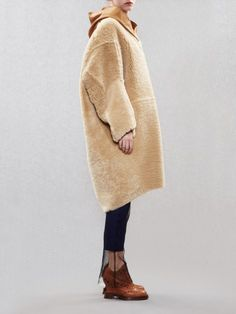 shearling coat from Acne