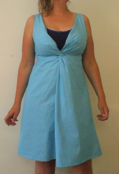 Burda 3/2012 Knot Dress by Justina Maria Louisa