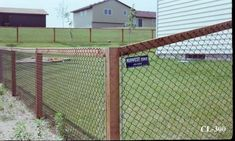Chain Link Fence And Gate Parts List And Install Guide