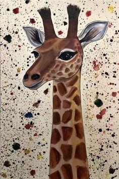 Giraffe Art2Arts Artist: Aisha Haider
