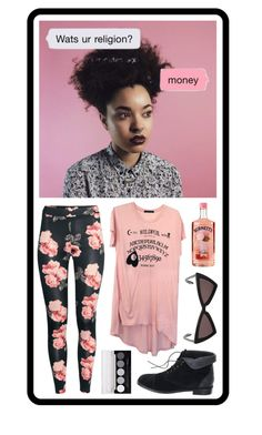 """Untitled #2222"" by wendimorrison ❤ liked on Polyvore featuring H&M, Wildfox, Madewell, Yves Saint Laurent and L.A. Colors"