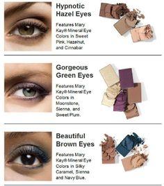 Mary Kay eye color bundles. :)