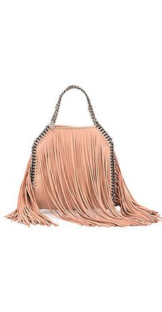 Stella McCartney Falabella Mini Fringe Tote Bag