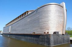 Bye Bye Apocalypse! A life-sized replica of Noah's Ark has opened to the public in the Netherlands!