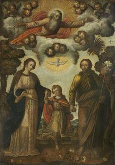 La Trinidad del cielo y la Trinidad de la tierra