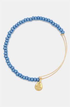 Alex and Ani 'Sea Bead' Expandale Wire Bangle available at #Nordstrom $28 with recycled glass beads