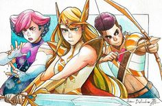 Glimmer, She-ra and Bow Fanart, She Ra Princess Of Power, Cartoon Shows, Animation Series, Disney And Dreamworks, Magical Girl, Queen, Nerd, Anime