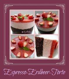 'Espresso-Erdbeer-Torte'